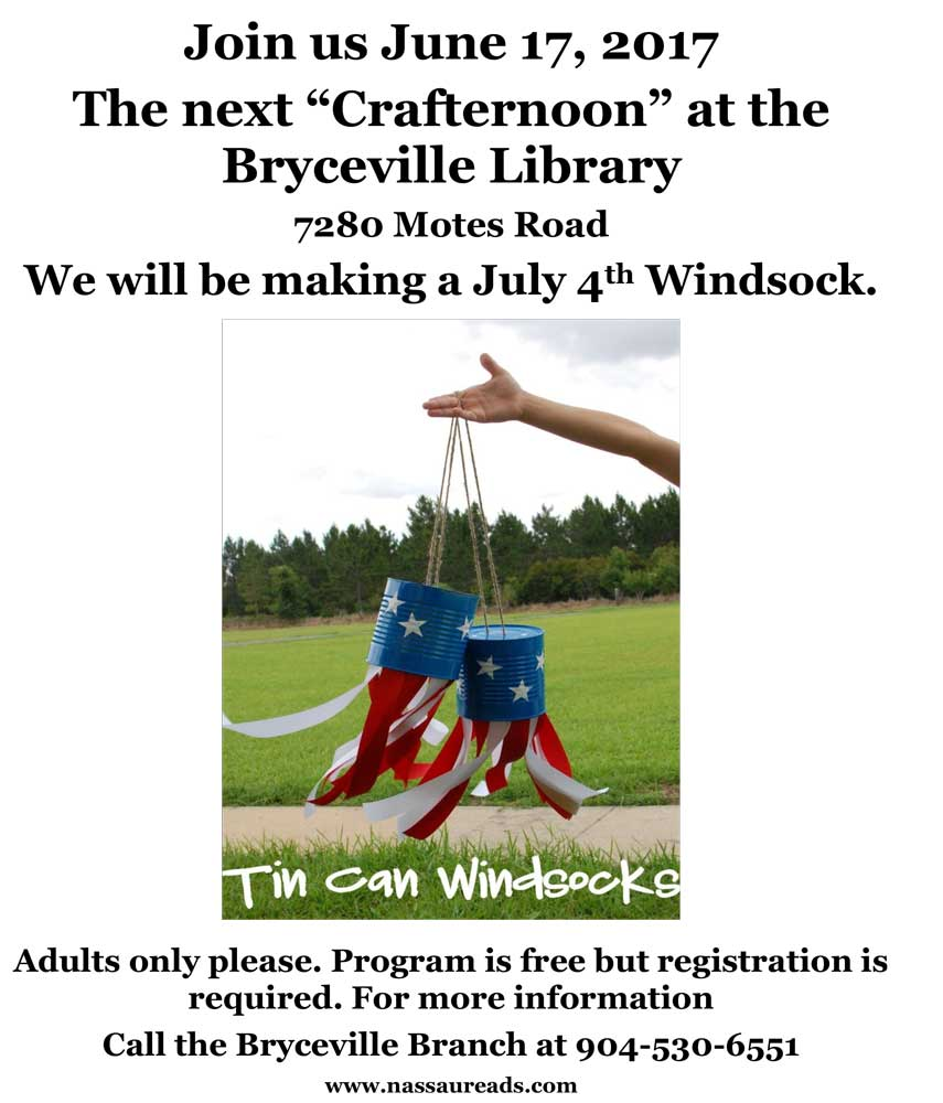 Crafternoon on June 17