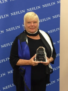 Kaufman was selected as the NEFLIN Library Champion of the Year