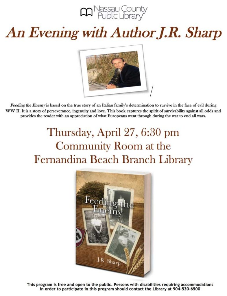Author JR SHarp on April 27