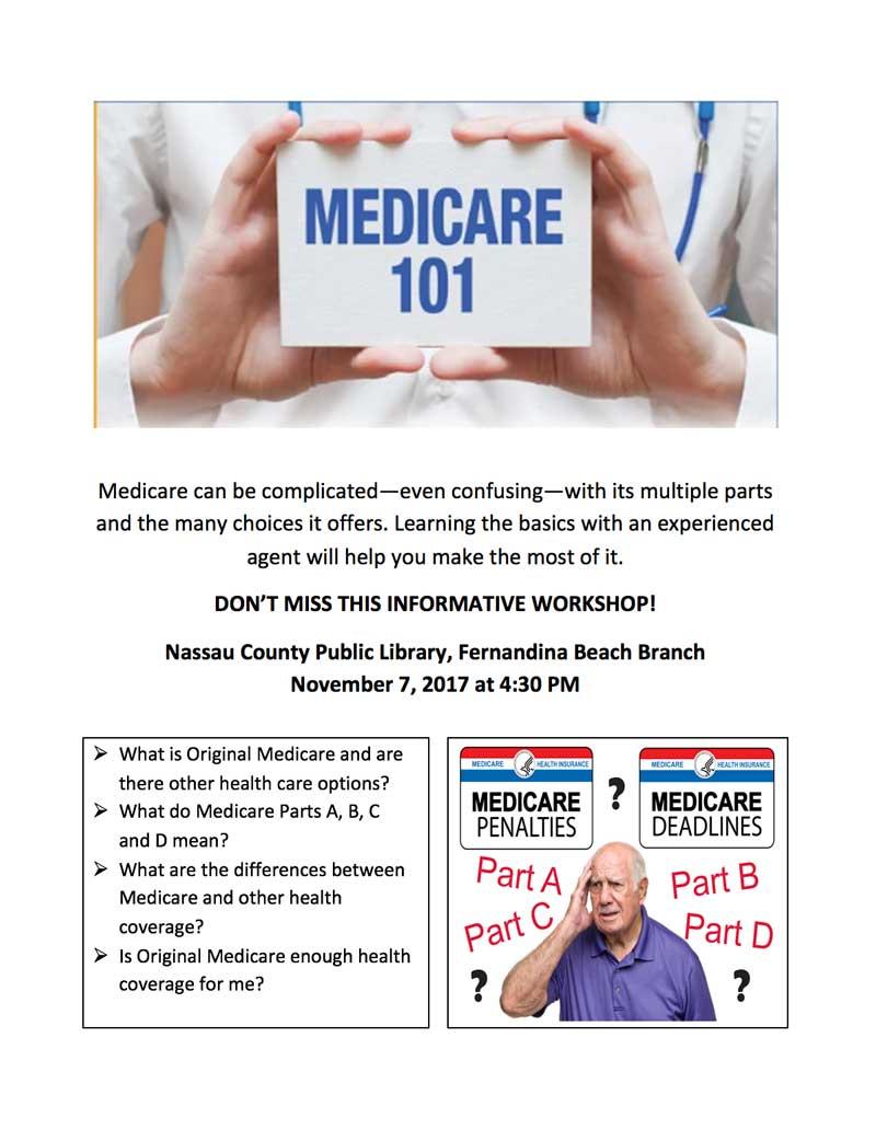 Medicare 101 on November 72017