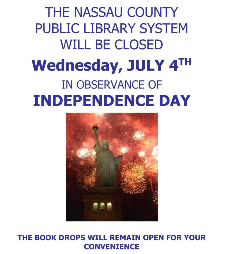 Library Closed on July 4