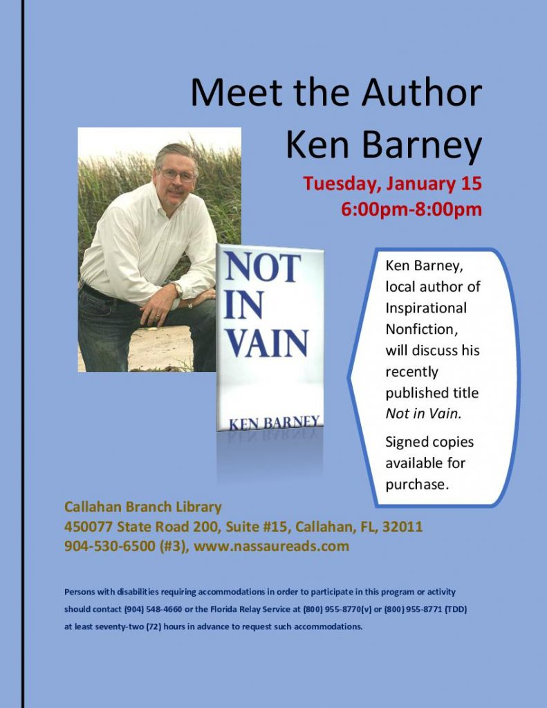 Ken Barney January 15