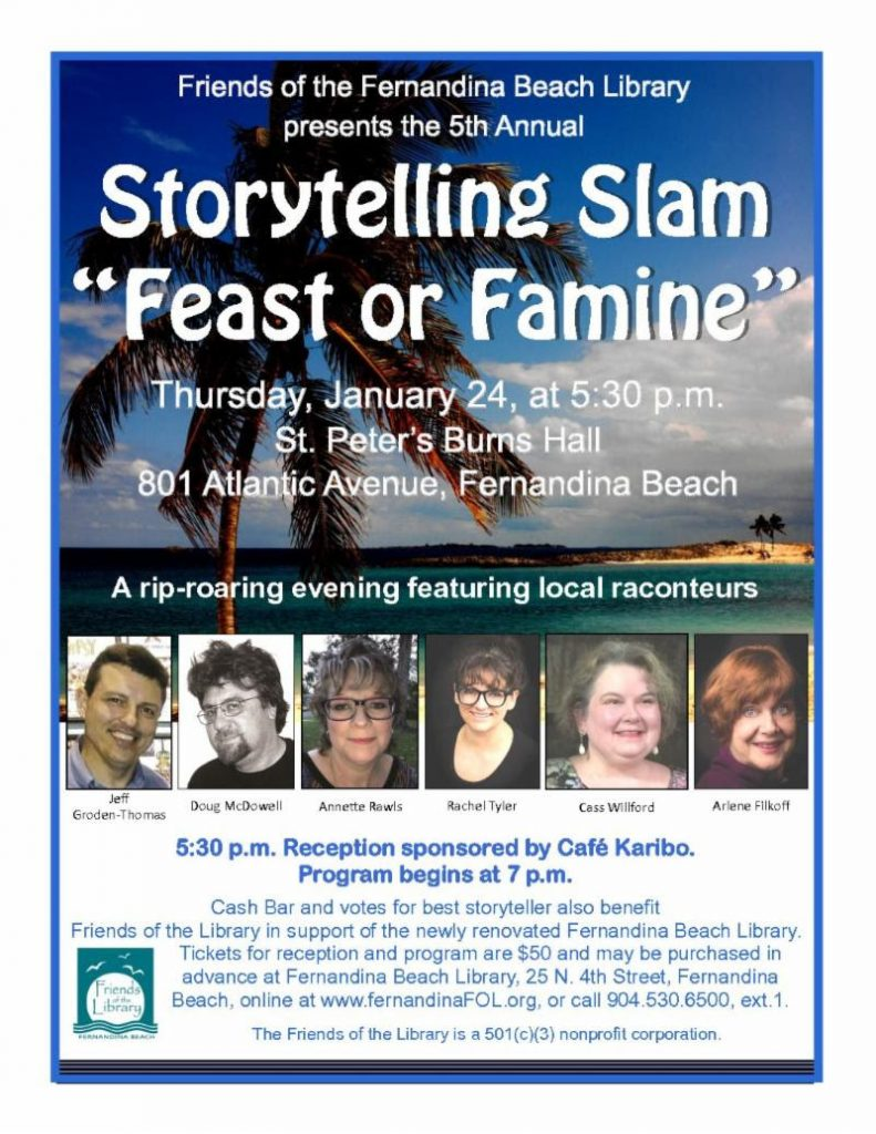 Storytelling Slam January 25