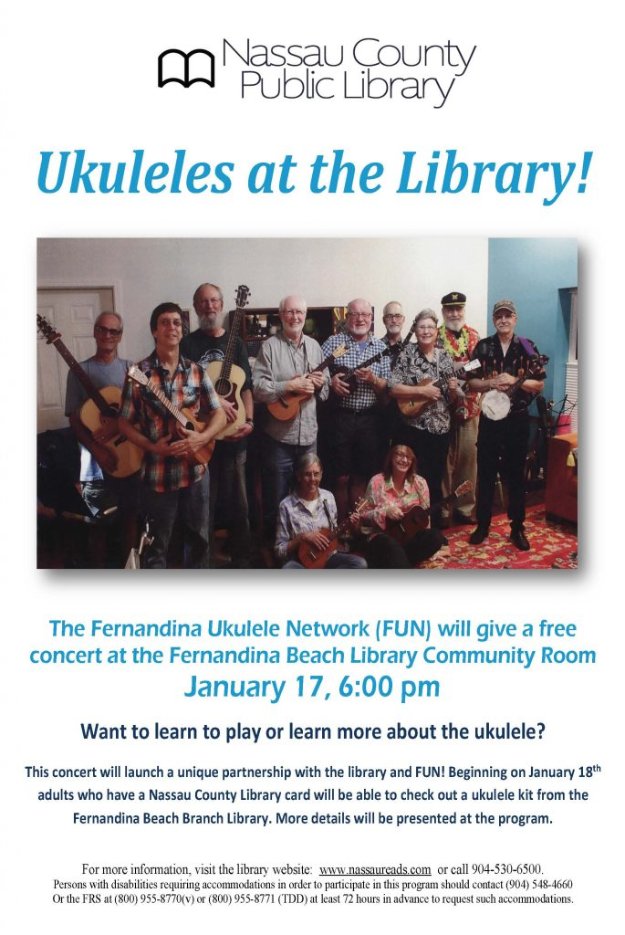 Ukuleles at the Library!