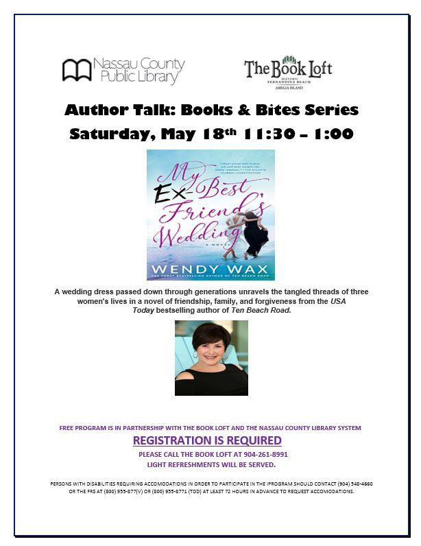 Wendy Wax Author Talk