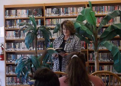 Participants read a poem by a favorite poet...