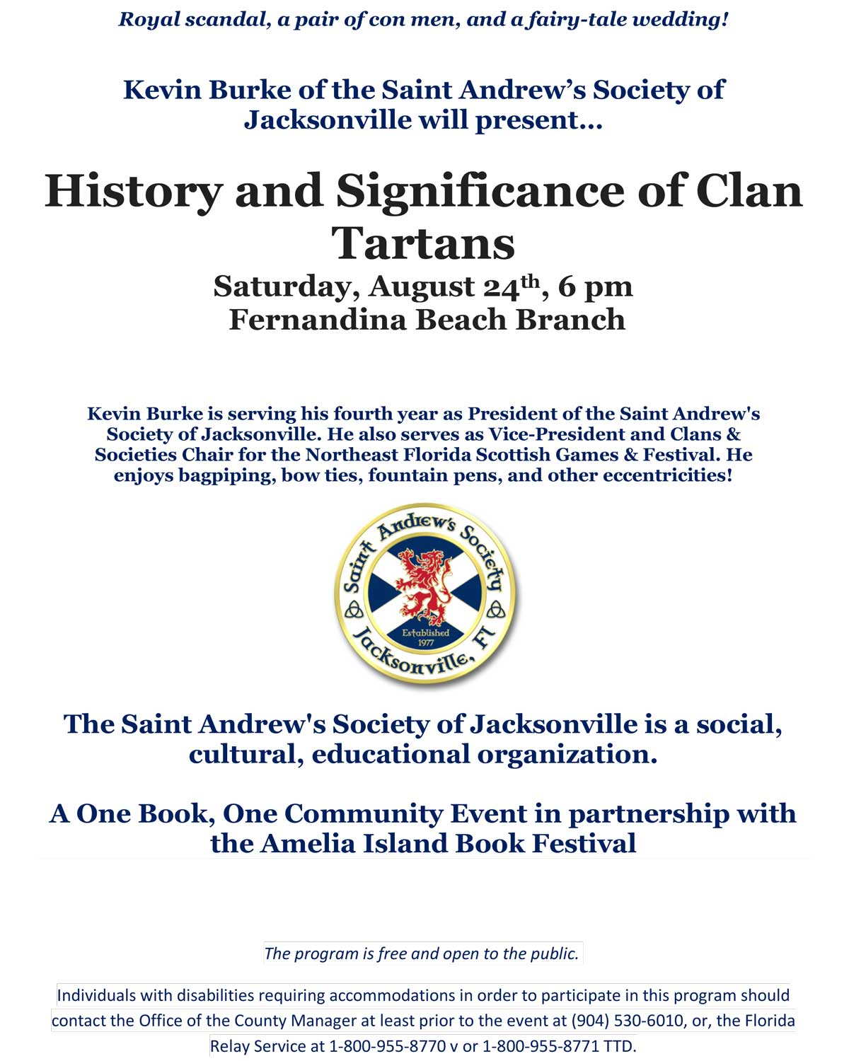 History and Significance of Clan Tartans Saturday, August 24