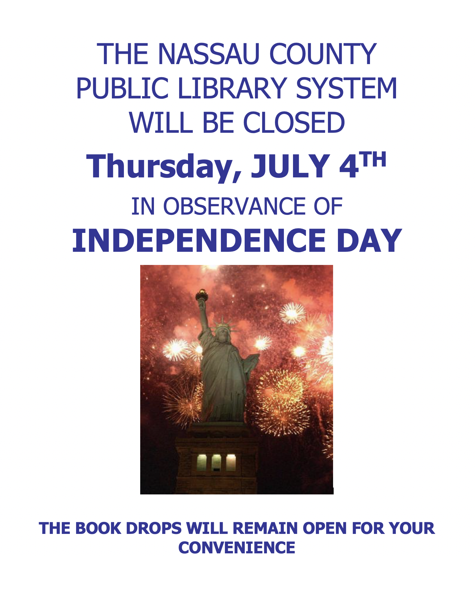 Library Closed for 4th of July