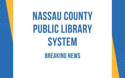 Nassau County Public Library Branches Closed Until Further Notice