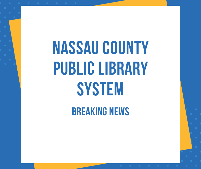 Yulee Branch Library Closed Thru March 22nd