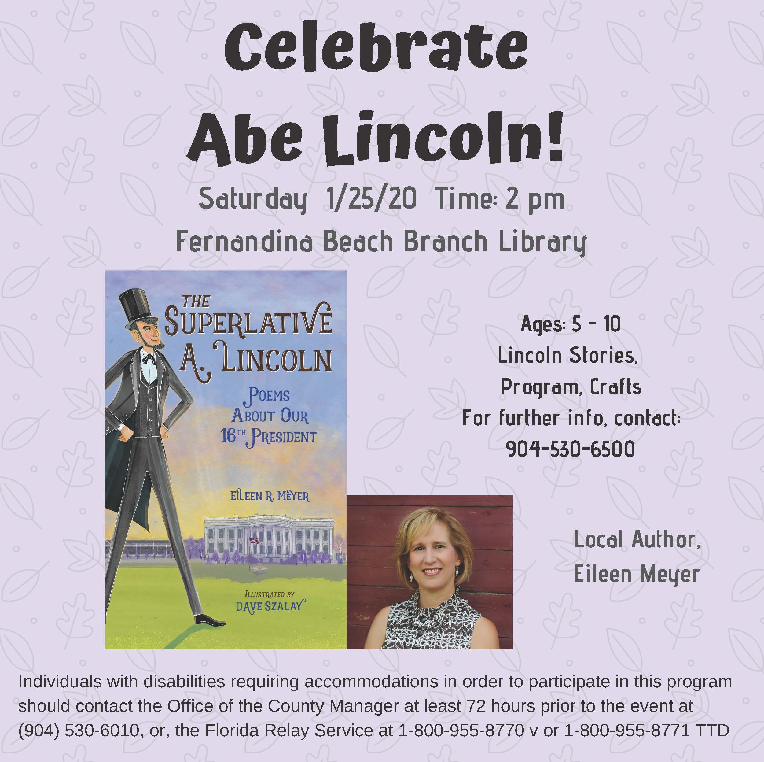 Celebrate Abe Lincoln