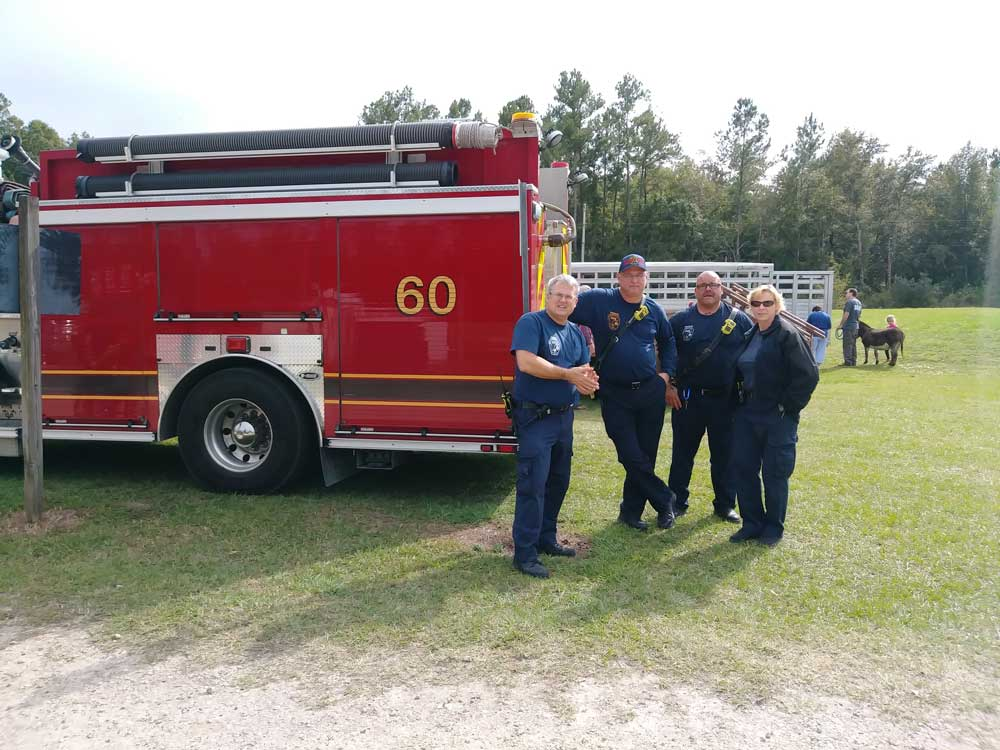 Fire Department at the Fall Family Fun Day