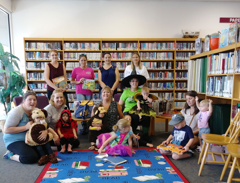 Time for Tots at the Callahan Library