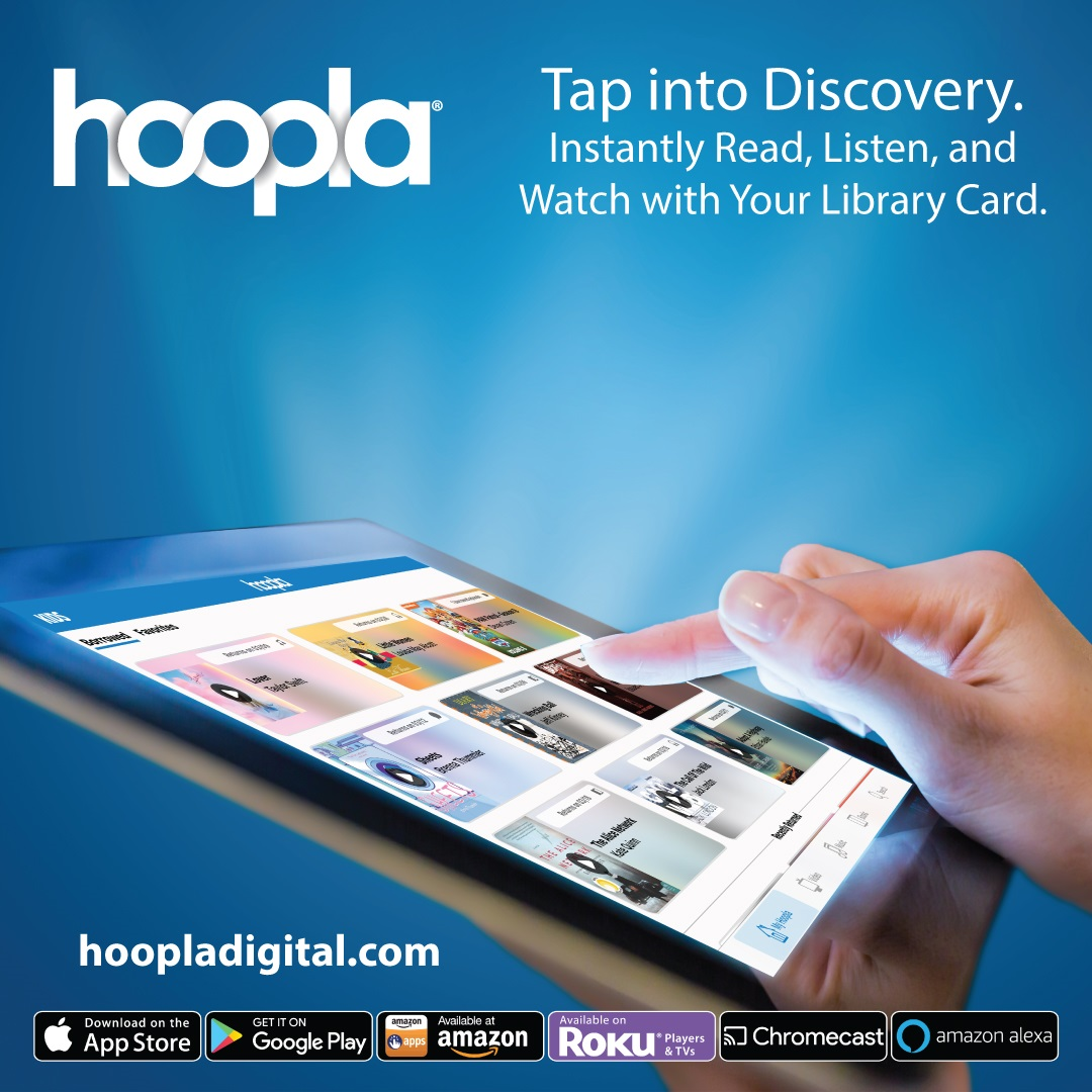 Stream with Hoopla