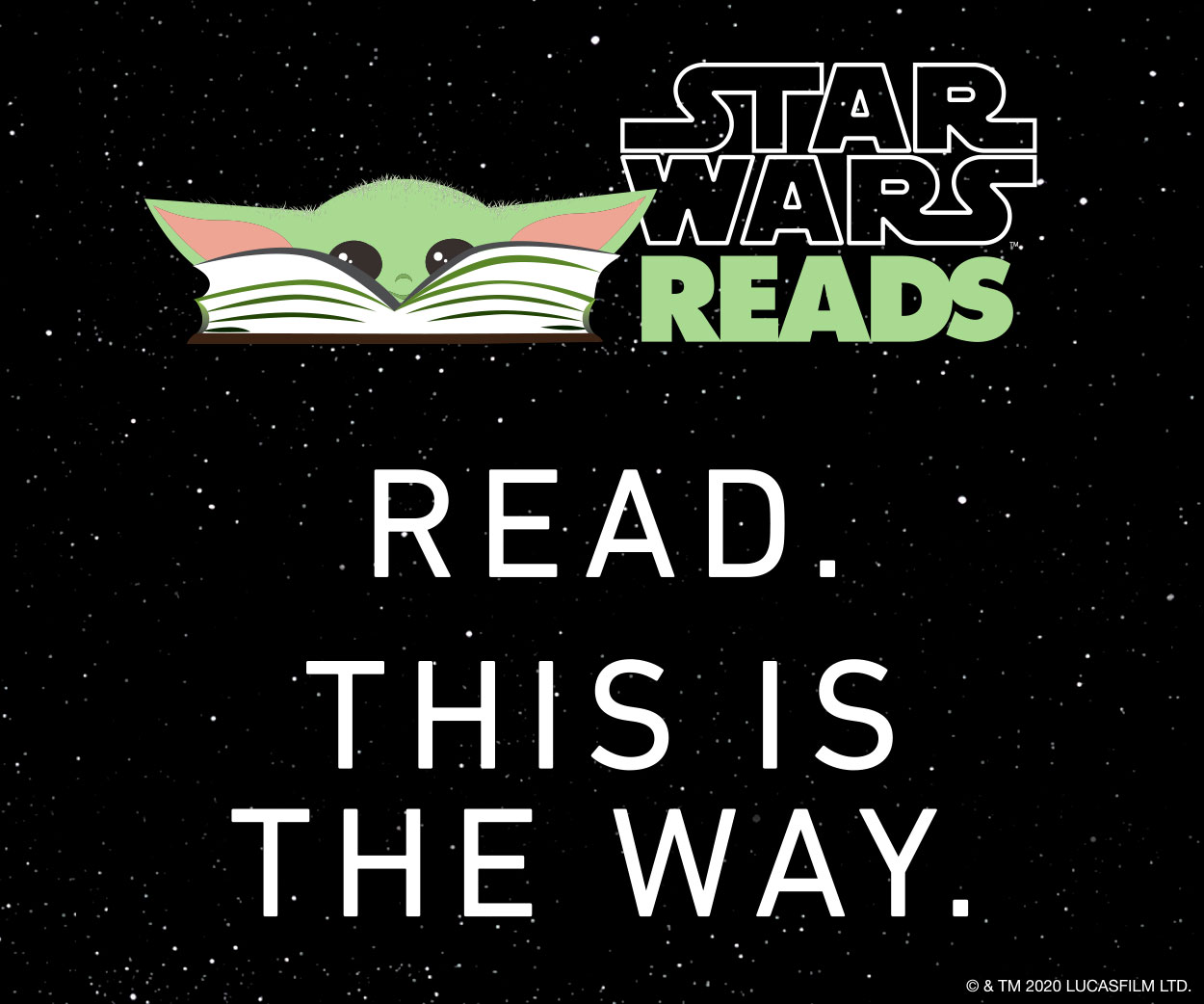 Star Wars Read Banner Ad