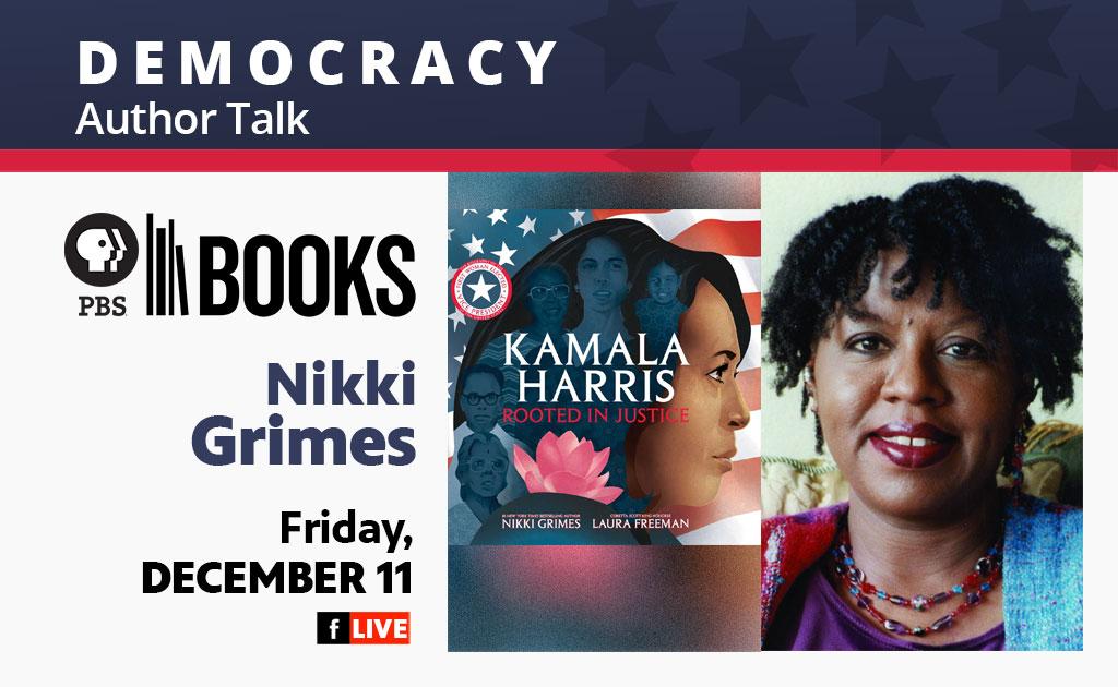 Democracy Author Talk on December 11