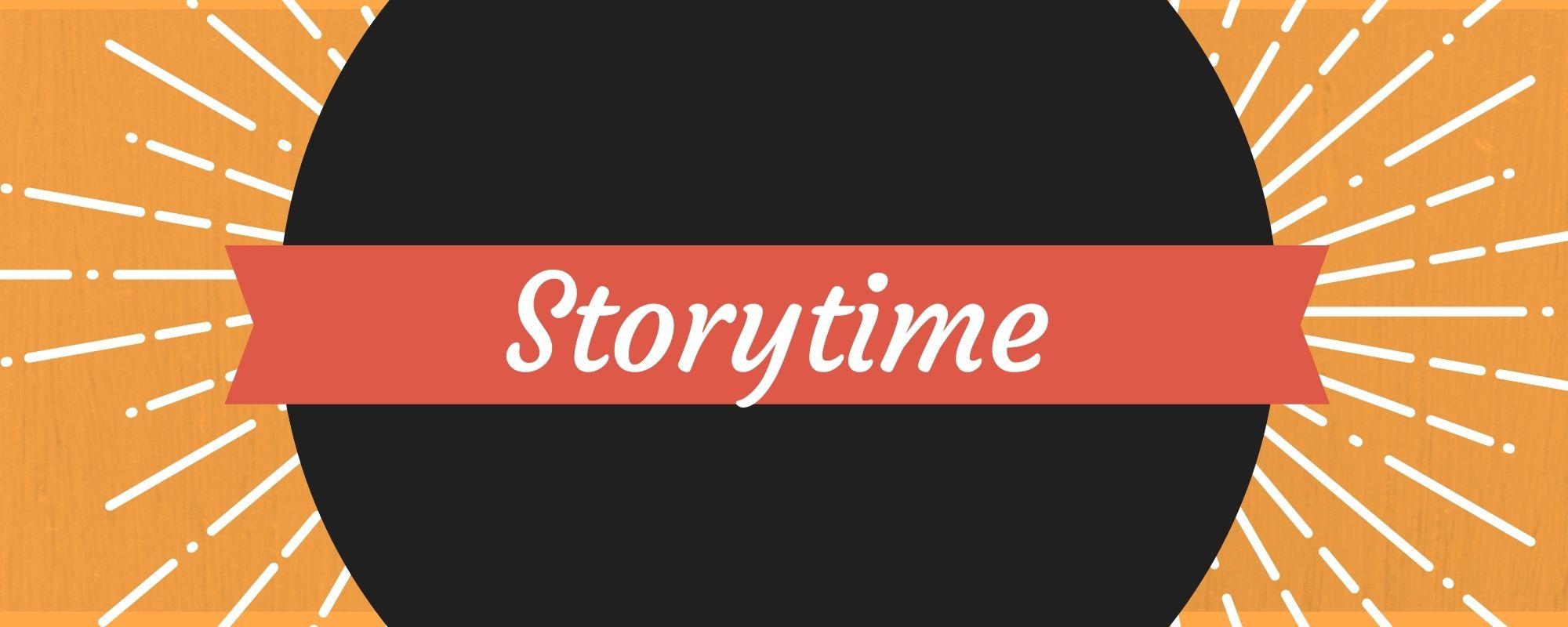 Storytime with orange burst