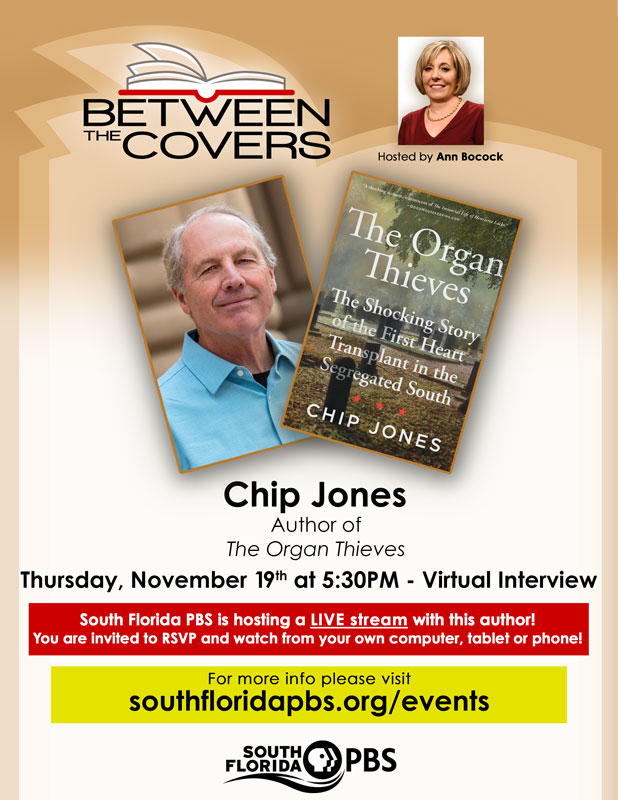 Between the Covers with Chip Jones