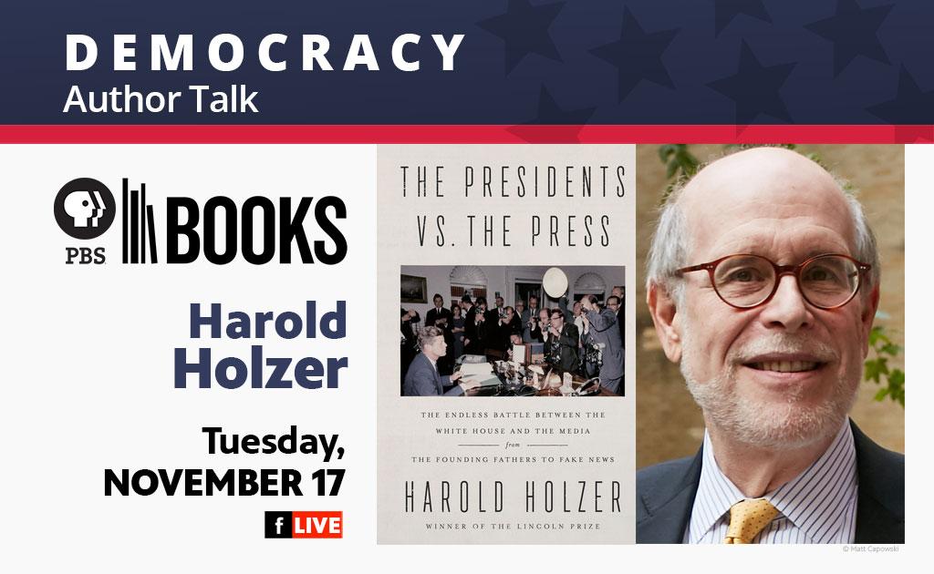 PBS Books Presentes Harold Holzer