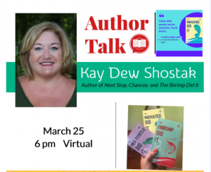 Kay Shostak program March 25