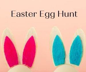 Kids Easter Egg Hunt Banner Ad