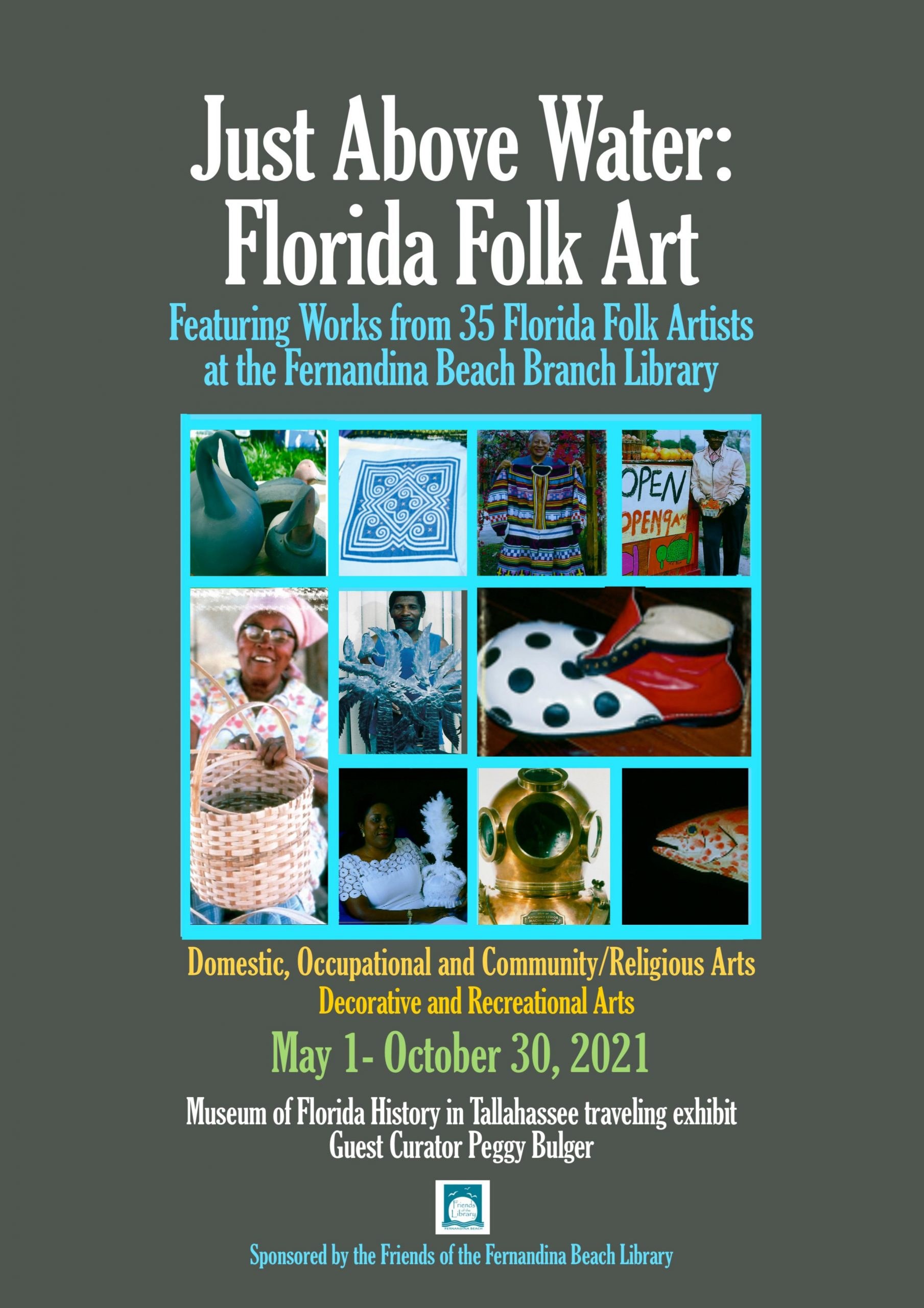 Folk Art Display in Fernandina