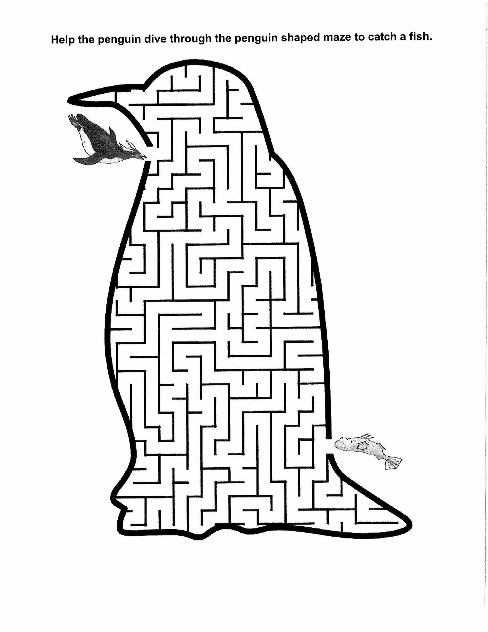 Downloadable Penquin Maze