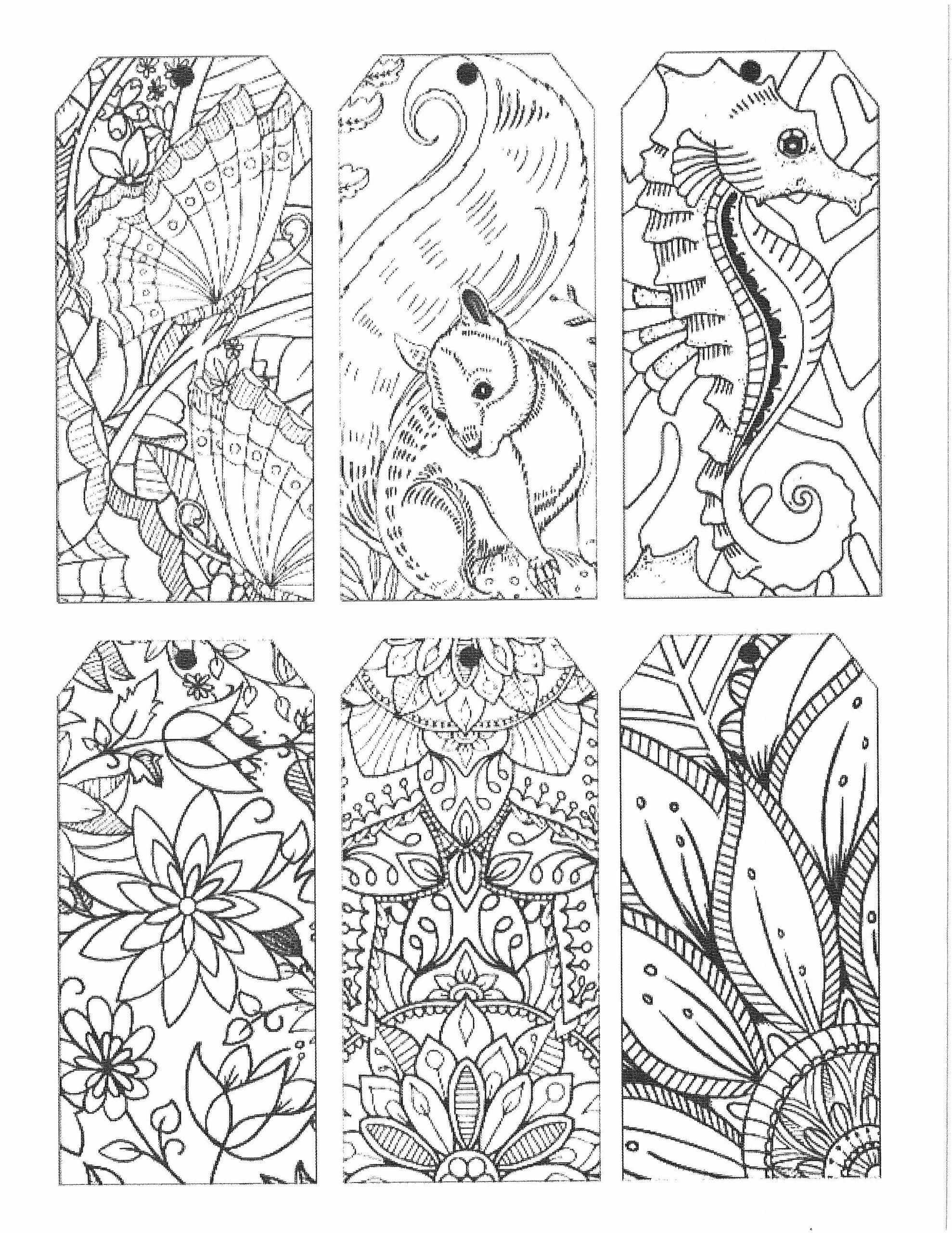Coloring Page - SeaLife - 6 scenes