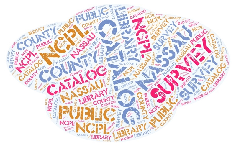 Word Cloud of library terminology
