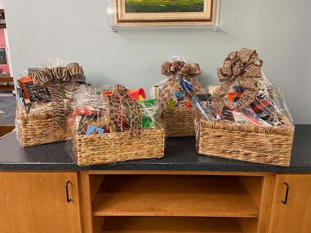 Summer Reading Prize Baskets