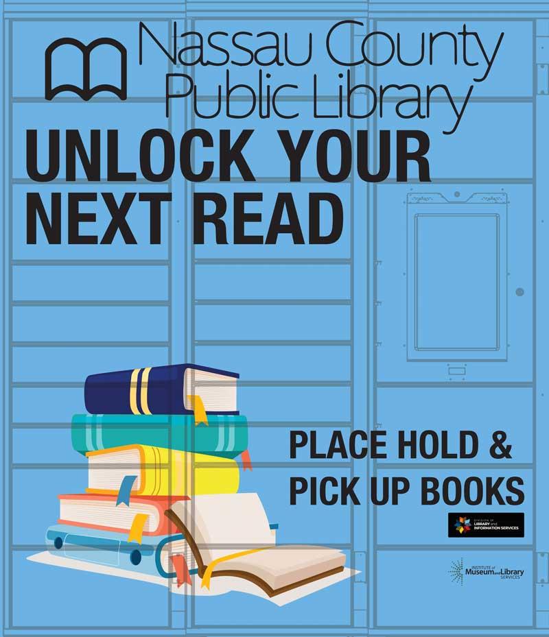 Yulee Library Locker Graphic