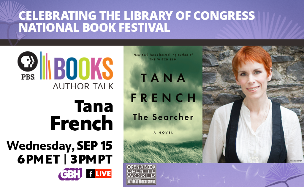 Author Tara French on September 15 at 8 PM