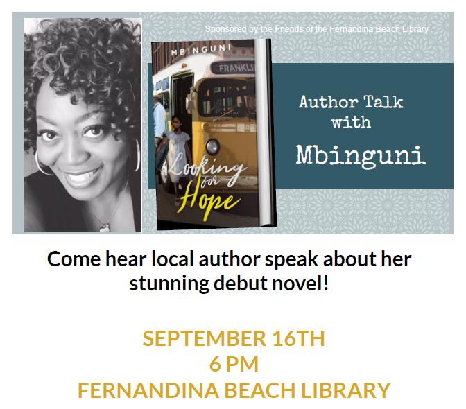 Author Talk with Mbinguni