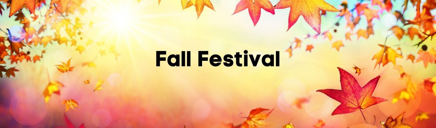 Fall Festival Header