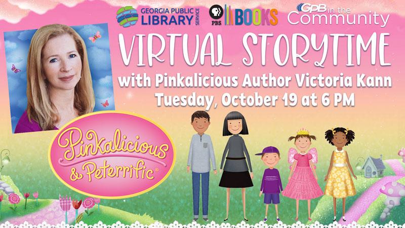 Virtual Storytime Pinkalicious